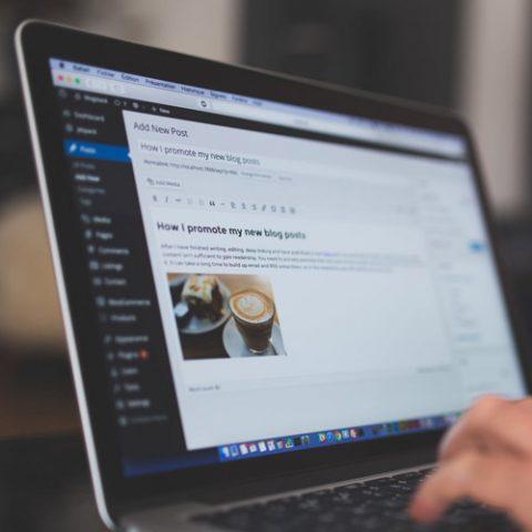 Formation création de site internet avec le CMS WordPress
