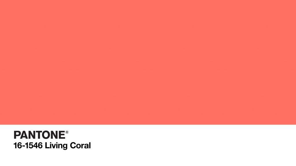 Pantone Living Coral - Couleur de l'année 2019